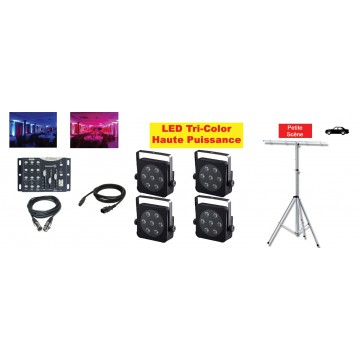 Location Pack LED 3 (avec pied)