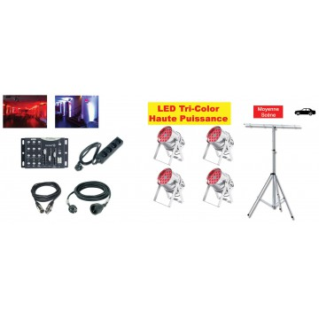 Location Pack LED 5 (avec pied)
