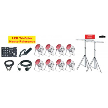 Location Pack LED 6 (avec Pied)