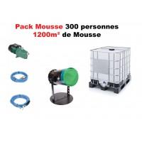 LocationMachine à Mousse + pompe + cuve 1000L + 20 L de liquide mousse