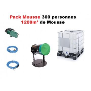 Location Machine à Mousse + pompe + cuve 1000L + 20 L de liquide mousse